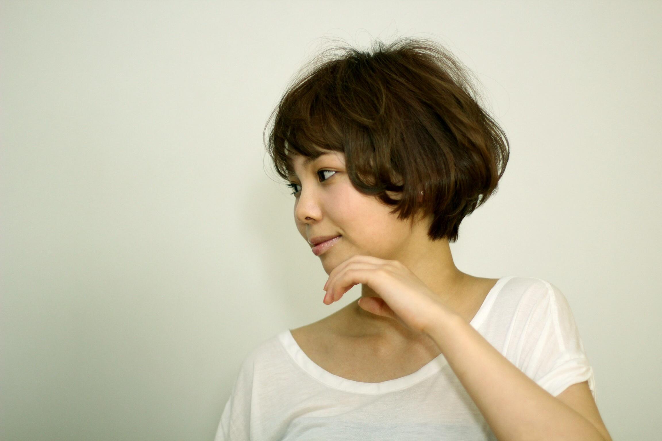 ナチュラルな魅力が光るクラシカルマッシュ    hair  吉永武司