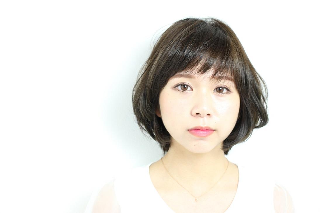美しいひし形シルエットで爽やかにセンスアップ  HAIR 吉永武司