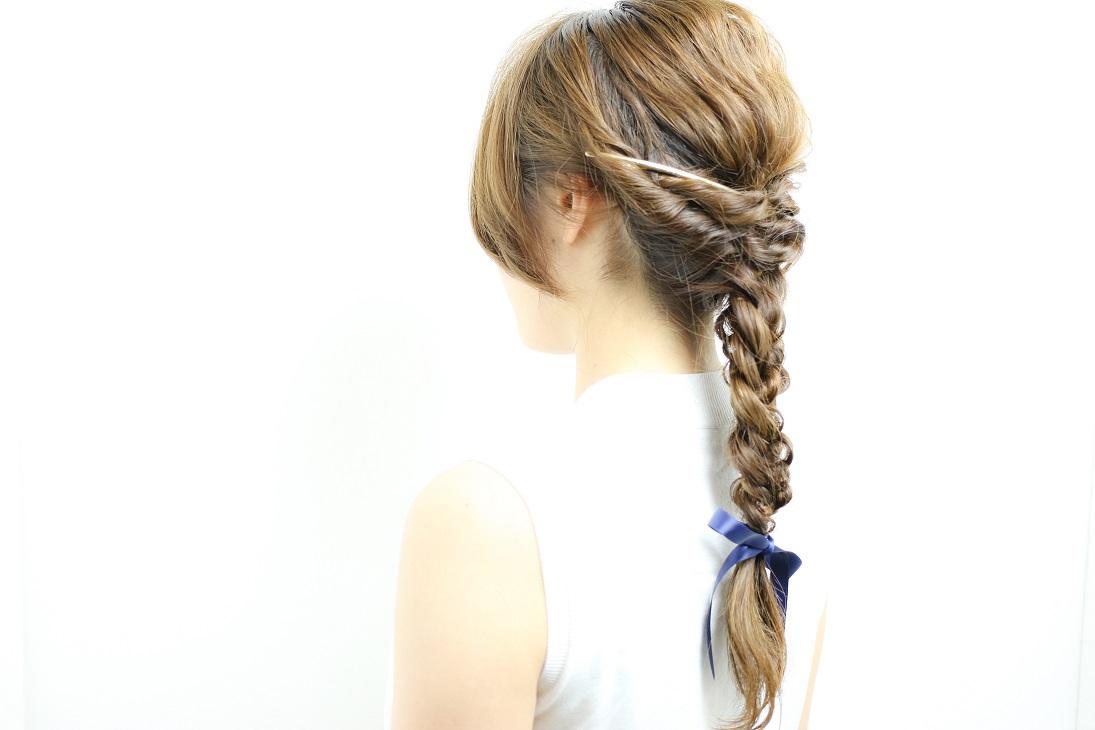 リッチ編みおろしヘア   HAIR   古賀久美子