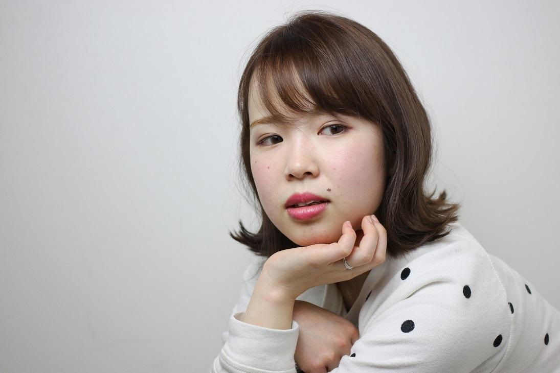 切りっぱなしボブ  HAIR 古賀久美子
