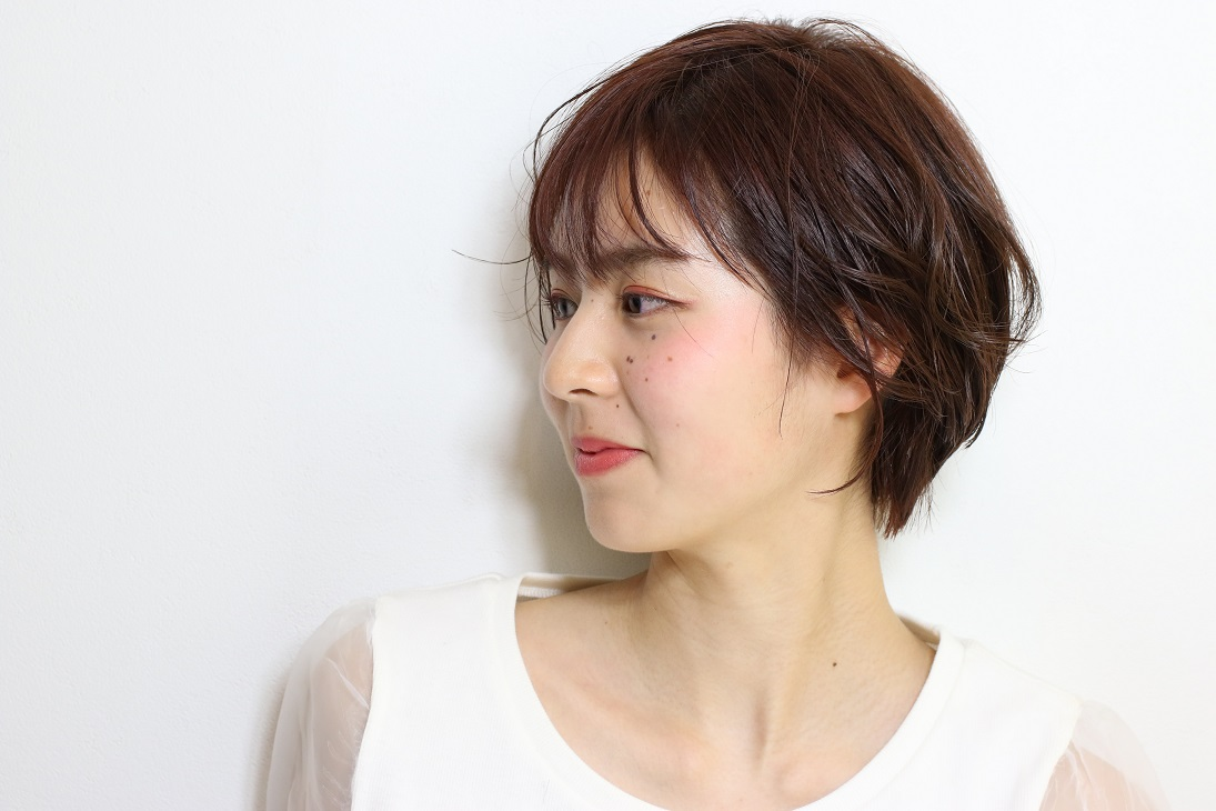 <倉敷・中島/Theia>無造作ショートボブ HAIR 武政 優