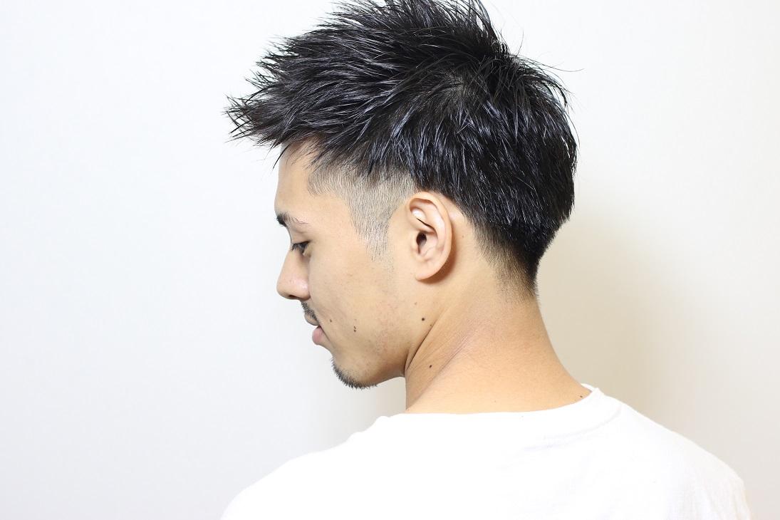 <倉敷・中島/Theia>ツーブロック×アップバング HAIR 谷脇琴子